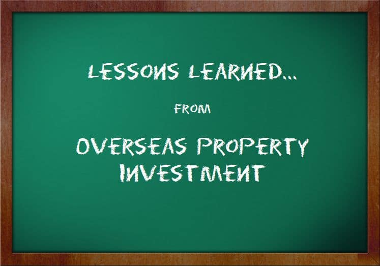 Lessons Learned from Overseas Property Investment